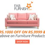 Fabfurnish 15% off on 4999 Coupon code