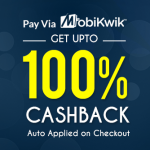 IndustryBuying Mobikwik Wallet Offer Upto 100% Cashback