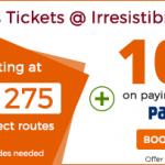 Ticketgoose Paytm Wallet Offer Get 10% Cashback