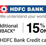 Amazon Fashion HDFC Bank Credit Card Offer Get 15% Cashback