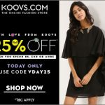 Koovs Rs 500 off on 1499 Discount Coupon