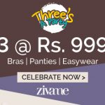 Zivame 10% off on 999 Discount Coupon