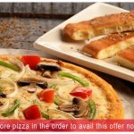 Dominos HDFC Bank Offer Get 20% Off on 400