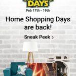 Flipkart Home Shopping Days are Back 17-19th February 2017