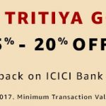 ICICI Bank Credit Debit Card Online Shopping Offers