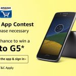 Amazon Mobile App Offer Participate in Contest & Win Prizes